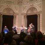 Clarinet quartet and Lex